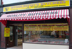 Look out for the Yellow banner on our shop front